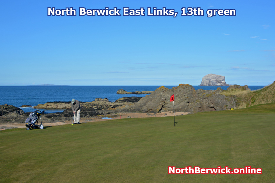 North Berwick: East Links golf course 13th hole