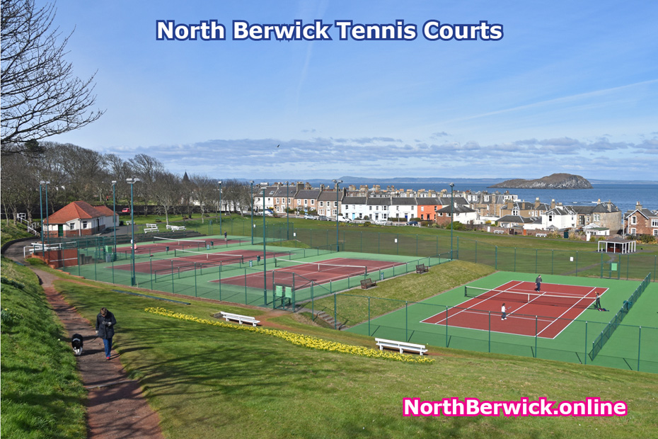 North Berwick tennis courts and East Putting Green